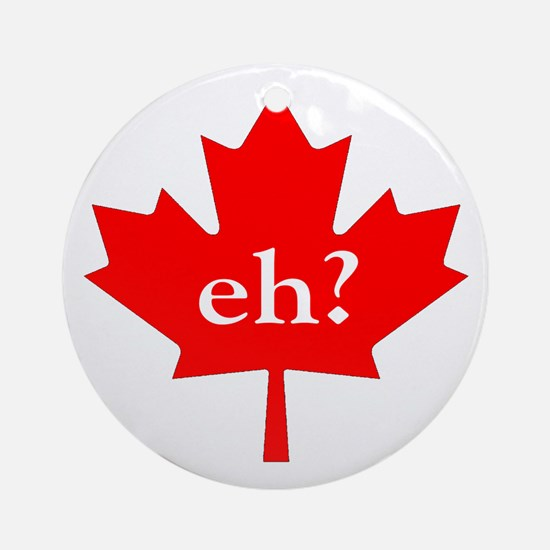 Eh? Ornament (Round)