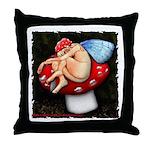 Robin Goodfellow Throw Pillow