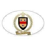 SEAR Family Crest Oval Sticker (50 pk)