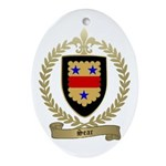 SEAR Family Crest Oval Ornament