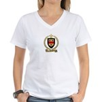 SEARS Family Crest Women's V-Neck T-Shirt
