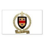 SEARS Family Crest Rectangle Sticker 50 pk)