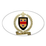 SEARS Family Crest Oval Sticker