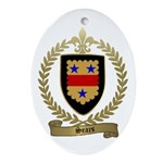 SEARS Family Crest Oval Ornament