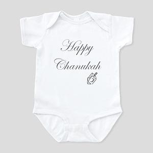 Happy Chanukah Dreidel Infant Bodysuit