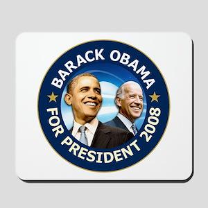 Obama 2008 Deep Blue Mousepad