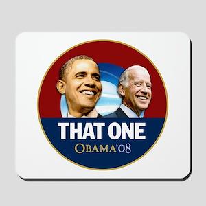Obama 2008 That One Biden Mousepad