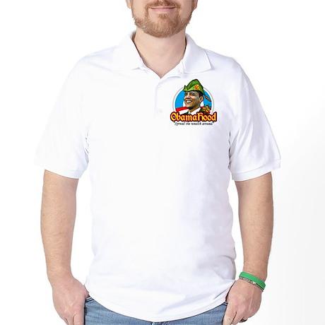 ObamaHood Spread the Wealth Golf Shirt
