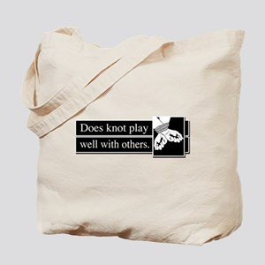 Knot Play Tote Bag