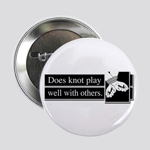"""Knot Play 2.25"""" Button"""