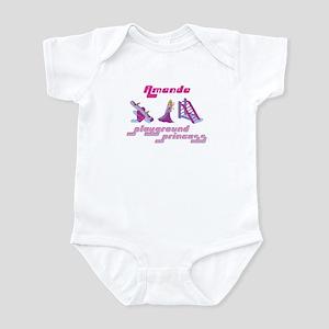 Amanda - Playground Princess Infant Bodysuit