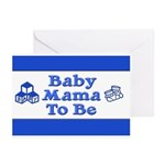 Baby Mama to Be Greeting Cards (Pk of 20)