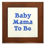 Baby Mama to Be Framed Tile