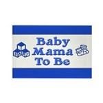 Baby Mama to Be Rectangle Magnet (10 pack)