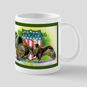 National Birds on Thanksgivin Mug