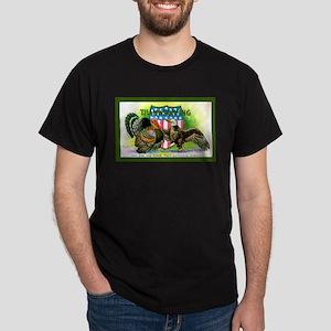 National Birds on Thanksgivin Dark T-Shirt