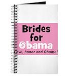 Obama Wedding Party Gift Journal