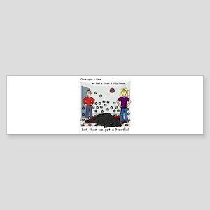 Newfie House - Bumper Sticker