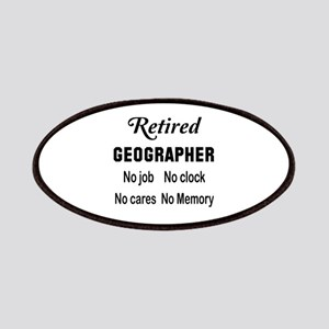 Retired Geographer Patch
