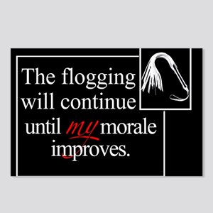 Flogging Morale Postcards (Package of 8)