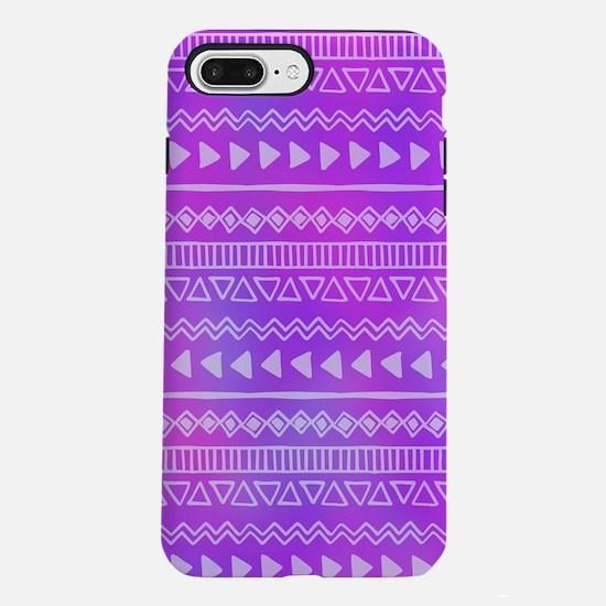 Aztec Purple iPhone 7 Plus Tough Case