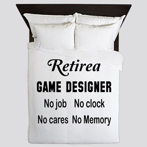 Retired Game designer Queen Duvet