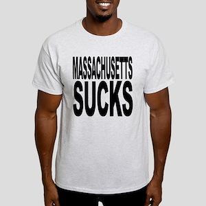 Massachusetts Sucks Light T-Shirt