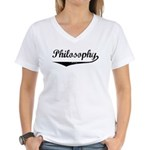 Philosophy Women's V-Neck T-Shirt