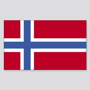 Norway Rectangle Sticker