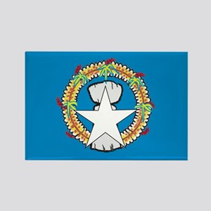 Northern Mariana Islands Rectangle Magnet