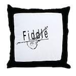 Fiddle Throw Pillow