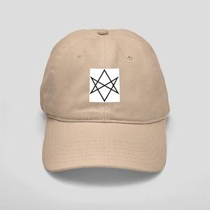 Unicursal Hexagram Cap (b/w)