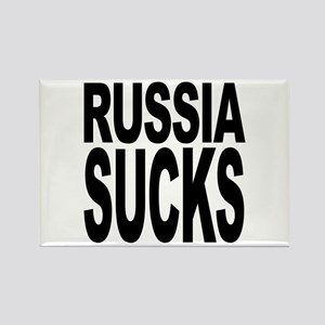 Russia Sucks Rectangle Magnet