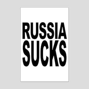Russia Sucks Mini Poster Print
