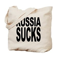 Russia Sucks Tote Bag