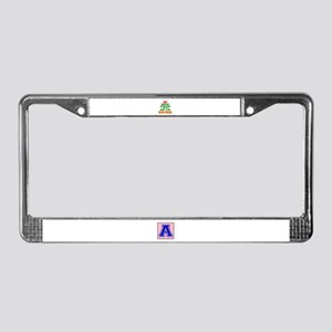 Keep Calm And Go To Bolivia Co License Plate Frame
