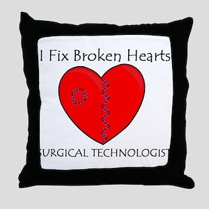 Heart Mender ST Throw Pillow