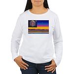 new world flag Women's Long Sleeve T-Shirt