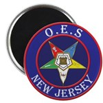 Order of the Eastern Star of New Jersey Magnet