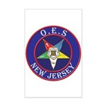 Order of the Eastern Star of New Jersey Mini Poste