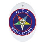 Order of the Eastern Star of New Jersey Ornament (