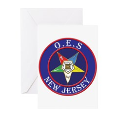 Order of the Eastern Star of New Jersey Greeting C