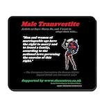 Article 12 Male Transvestite Mousepad