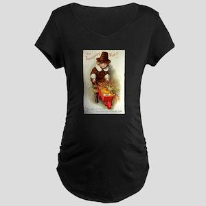 Little Pilgrim Maternity Dark T-Shirt
