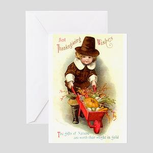 Little Pilgrim Greeting Card