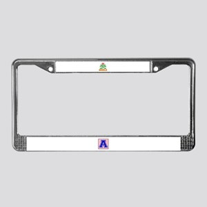 Keep Calm And Go To Anguilla C License Plate Frame