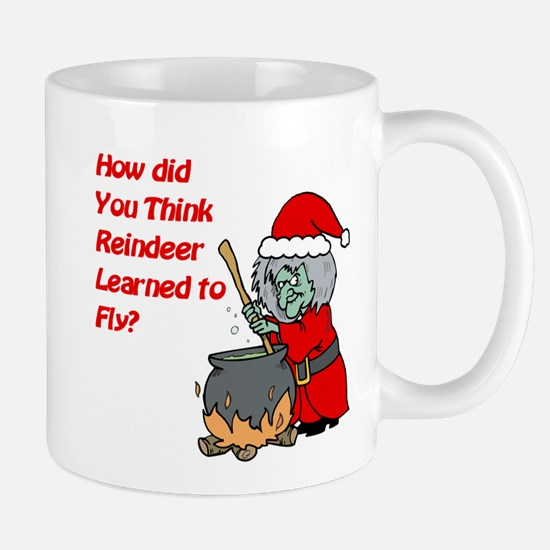 How Reindeer Fly Mug