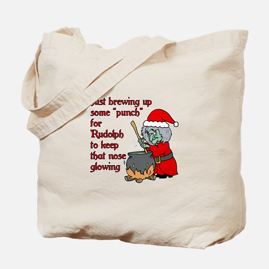 Brew for Rudolph Tote Bag