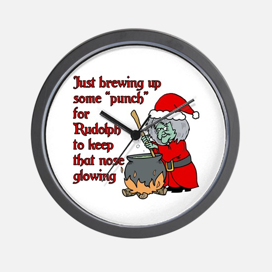 Brew for Rudolph Wall Clock