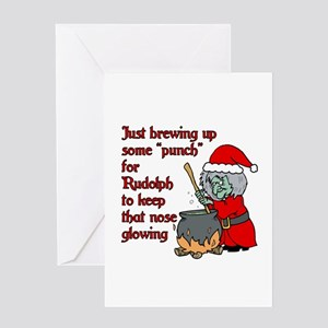 Brew for Rudolph Greeting Card